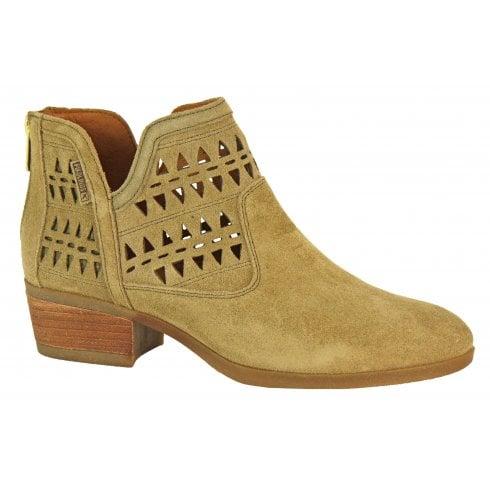 Pikolinos Suede Ankle Boot - W1U-8753so Daroka
