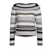 57003 OUI CHUNKY STRIPED SWEATER