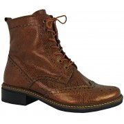 6.67.02 SOFTWAVES LACE UP BROGUE BOOT