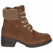 Cora Fur Lace Up Boot