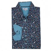 Grenouille Floral Printed Shirt - Flowers