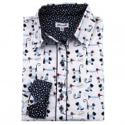 Grenouille Printed Shirt - Dog