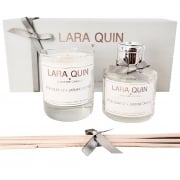 Luxury Candle Gift Set | ROSE QUARTZ + JASMINE ORCHID
