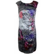 Graphic Print Sleeveless Dress 28887