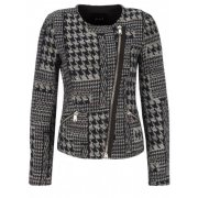 Oui 49928 check patterned Jacket