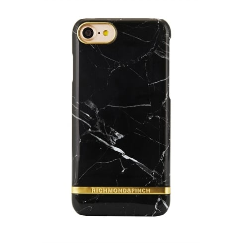 Richmond & Finch BLACK MARBLE - PHONE COVER - IPHONE 7