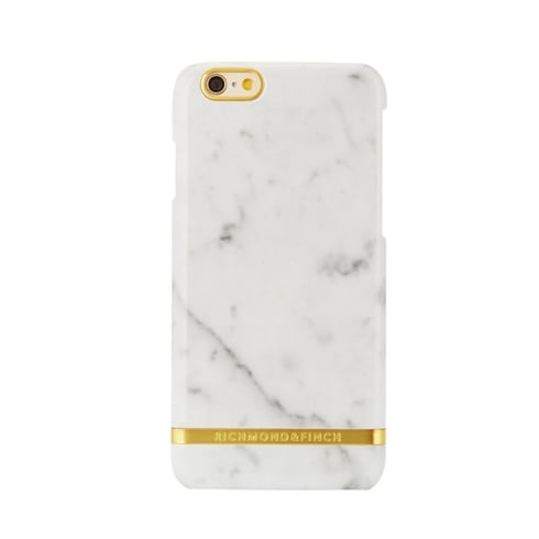 Richmond & Finch WHITE MARBLE - PHONE COVER - IPHONE 6/6S
