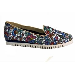 Sabrinas Multi Coloured Slip On Shoe - 83011