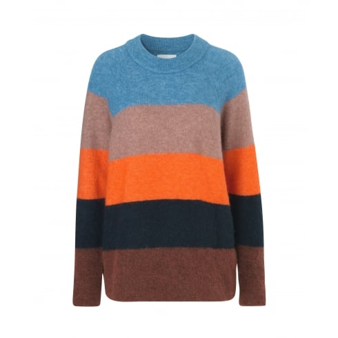 Samsoe & Samsoe Striped Sweater - Nor Long
