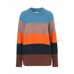 Samsoe & Samsoe Striped Sweater - Nor Long