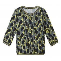 Sandwich Animal Print Ladies Blouse - 22001627