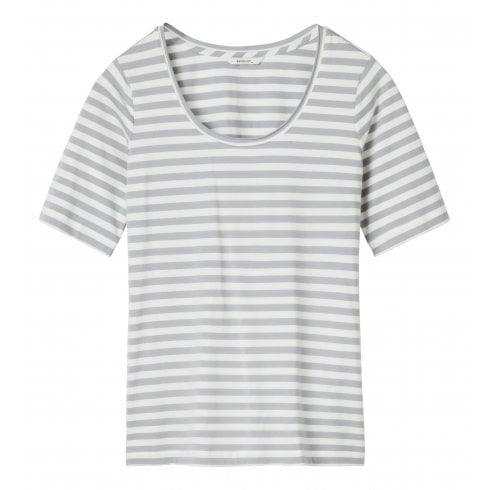 Sandwich Basic Striped T-Shirt - 21101655