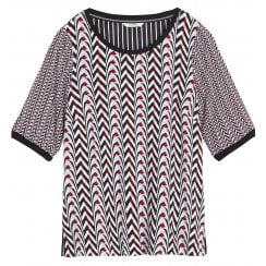 Sandwich Geometric Blouse - 22001675
