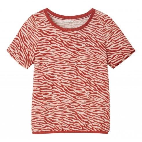 Sandwich Ladies Animal Print Blouse - 22001630