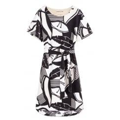 Sandwich Linen Dress - 23001369