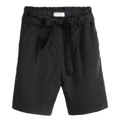 Sandwich Linen Shorts - 24001366