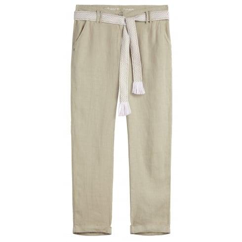 Sandwich Linen Trouser - 24001364