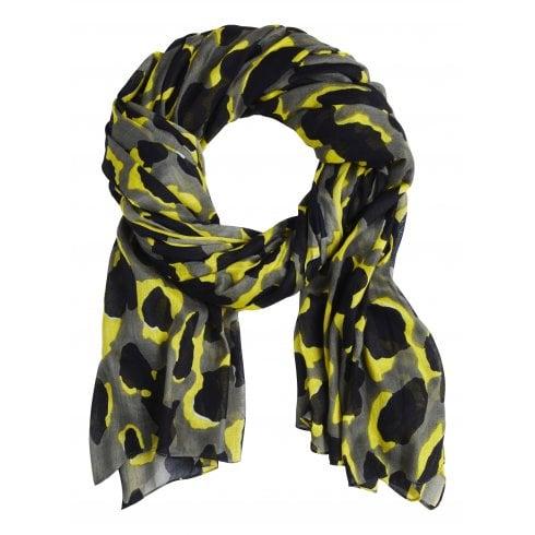 Sandwich Pastel Leopard Print Scarf - 28001404