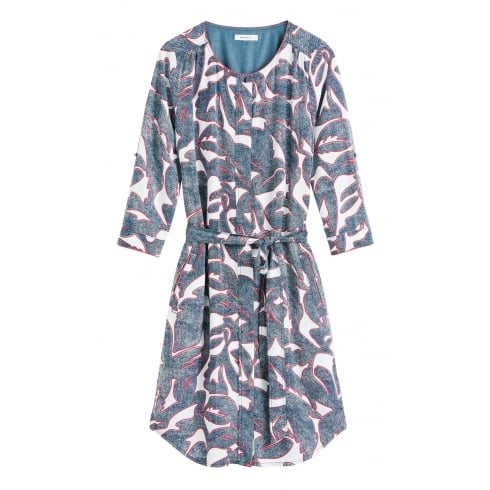 Sandwich Patterened Dress - 23001331