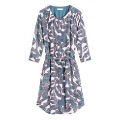 Sandwich Patterned Dress - 23001331