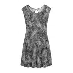 Sandwich Patterned Dress - 23001406
