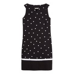 Sandwich Polka Dot Bell Dress - 23001561