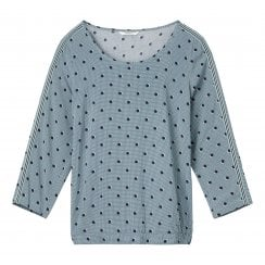 Sandwich Polka Dot Blouse - 22001634
