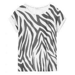 Sandwich Quirky Zebra Print T-Shirt - 21101663