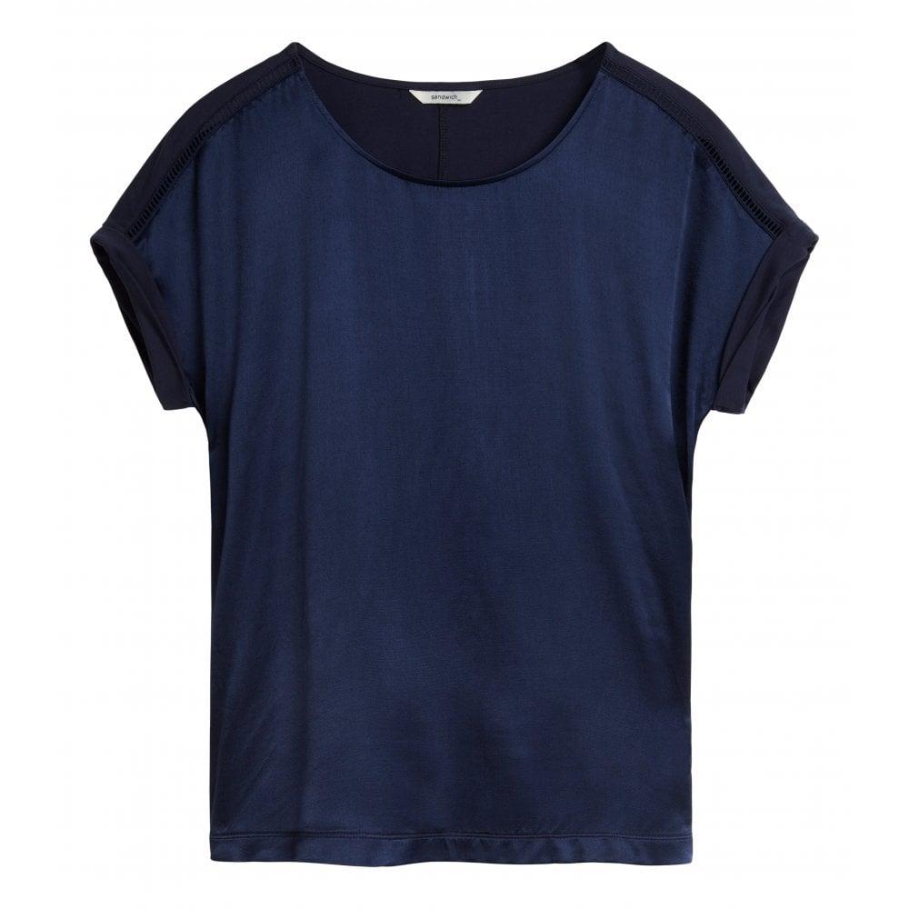 Front 21101695 Shiny T Sandwich Shirt gb6yYf7