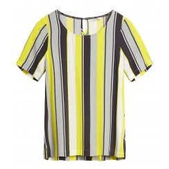 Sandwich Striped Blouse - 22001667