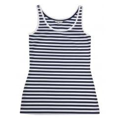 Sandwich Striped Vest Top - 21101539