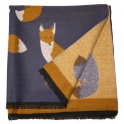 Something For Me Fox Print Scarf - 438502