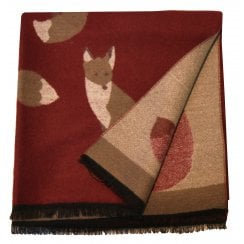 Something For Me Fox Print Scarf - 438504