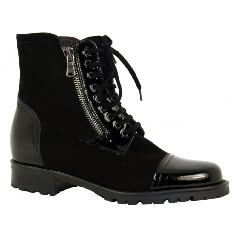 Something For Me Lace up Boot 4362