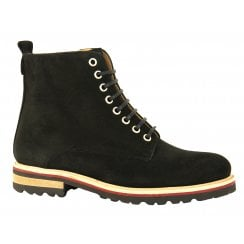Something For Me - Lace Up Combat Ankle Boot - 6181