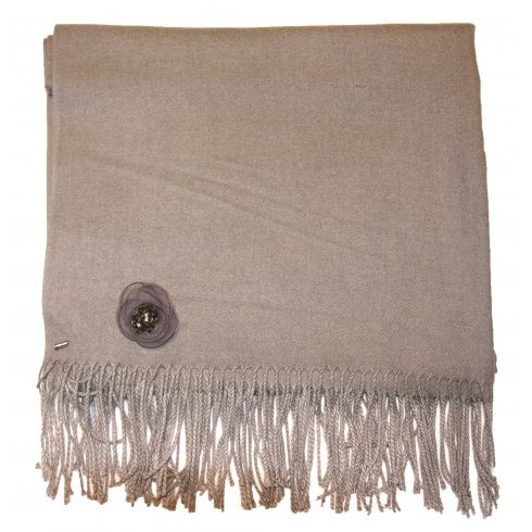 Something For Me Pashmina Scarf with Pin - 387012