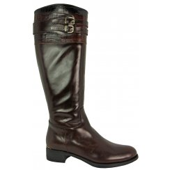 Something For Me Croc Buckles Long Boot