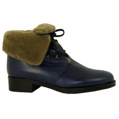 Something For Me Fur Top Ankle Boot 6487
