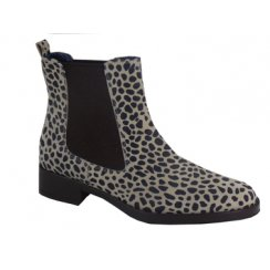 Something for Me Patterned Chelsea Boot 1807