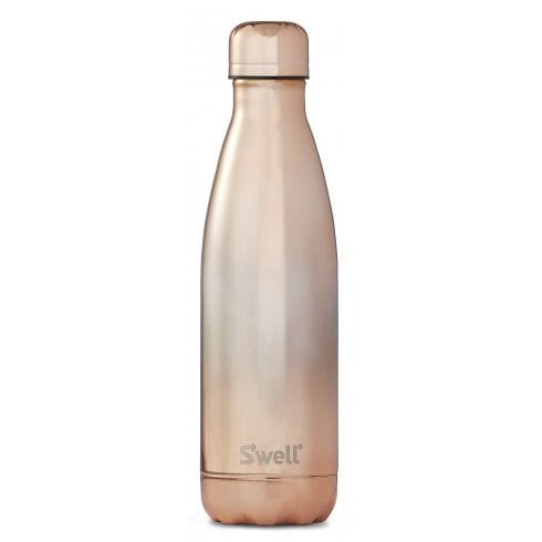 S'well Swell Bottle - Ombre Metallic Collection - Rose Gold Ombre - Medium 500ML/ 17OZ