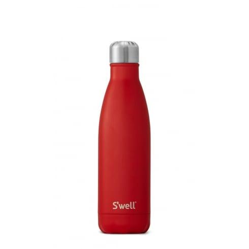 S'well Swell Bottle - Scarlet Medium - 500-ML/17-OZ