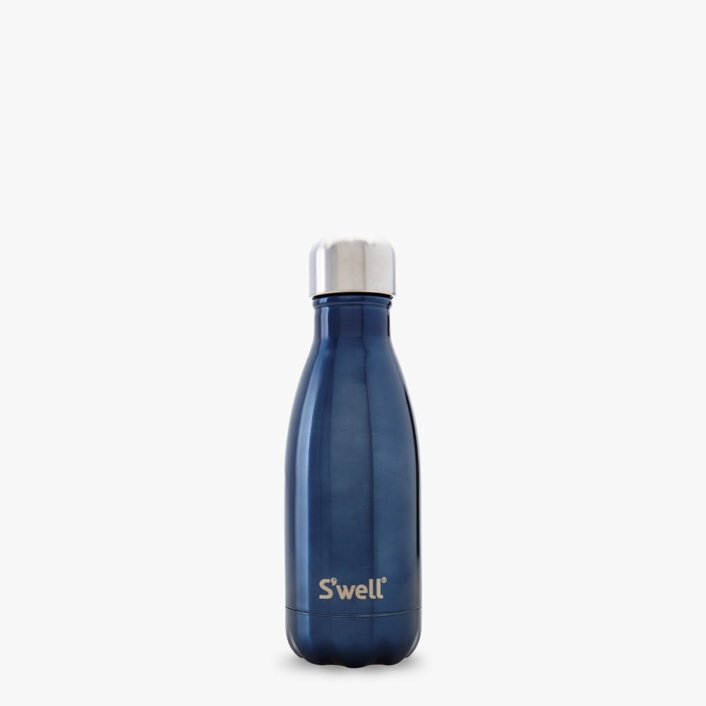 9e93ae97b3 S'well Swell Bottle - Shimmer Collection - Blue Suede Small - 260-ML ...