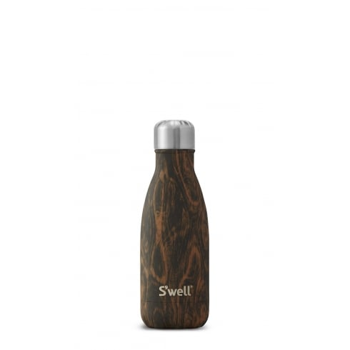 S'well Swell Bottle - Wood Collection - Wenge Wood Small - 260-ML/9-OZ