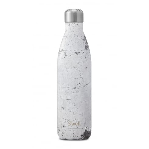 S'well Swell Bottle - Wood Collection - White Birch Large - 750-ML/25-OZ