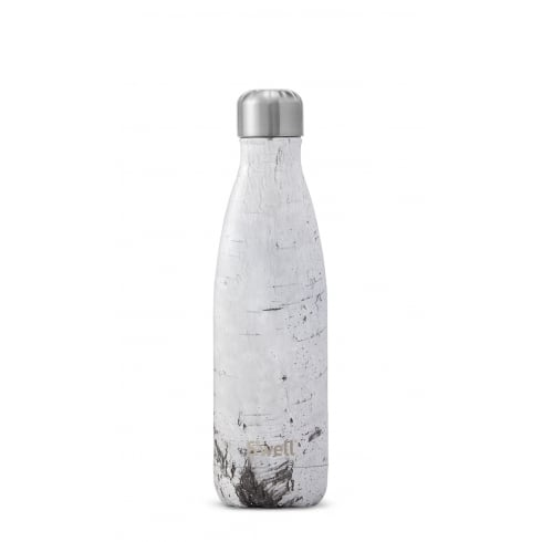S'well Swell Bottle - Wood Collection - White Birch Medium - 500-ML/17-OZ
