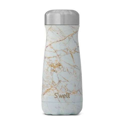 S'well Swell Traveller Bottle - Elements Collection - Calacatta Medium - 16-OZ