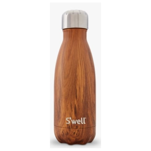 S'well Water Bottle - Wood Collection - Teakwood Small - 260-ML/9-OZ