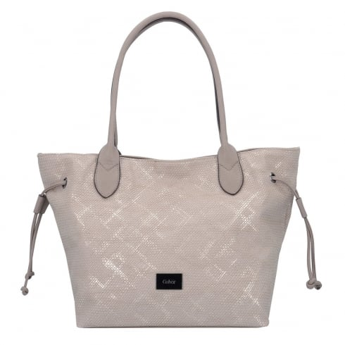 Taupe Gabor Shoulder Shopper Bag - Granada
