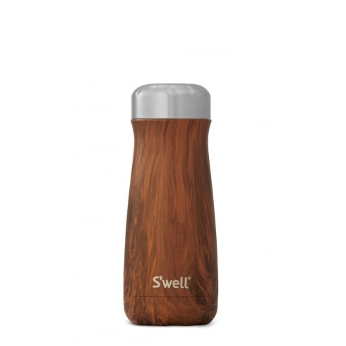 S'well TEAKWOOD 16OZ SWELL TRAVELLER CUP