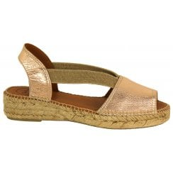 Toni Pons Leather Espadrille - Etna